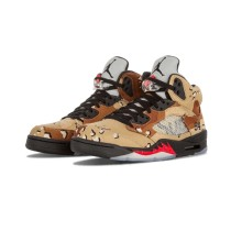 Authentic Air Jordan 5 GS Supreme Camo