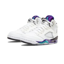 Authentic Air Jordan 5 Retro GS White Grape