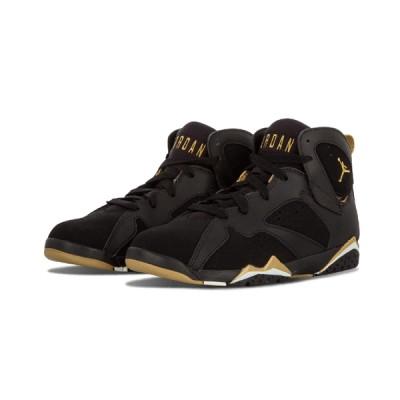 Authentic Air Jordan 7 Retro GS Black Gold