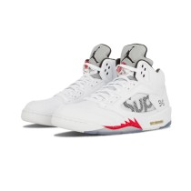 Authentic Air Jordan 5 GS Supreme White