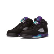 Authentic Air Jordan 5 Retro GS Black Grape