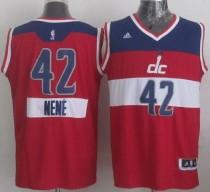 Washington Wizards #42 Nene Red 2014-15 Christmas Day Stitched NBA Jersey