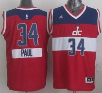 Washington Wizards #34 Paul Pierce Red 2014-15 Christmas Day Stitched NBA Jersey