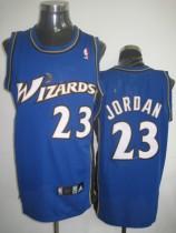 Washington Wizards #23 Michael Jordan Stitched Blue NBA Jersey