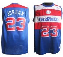 Washington Wizards #23 Michael Jordan Blue Nike Throwback Stitched NBA Jersey