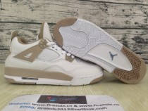 "Air Jordan 4 Retro GS ""Linen"""