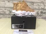 Supreme x Nike Air More Uptempo Gold