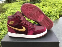 Authentic Air Jordan 1 Retro GS Night Maroon