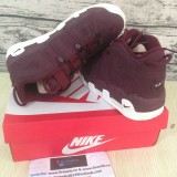 Supreme x Nike Air More Uptempo burgundy