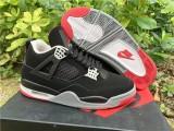 Authentic Air Jordan 4 Retro Black Cement