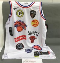 NBA Detroit Pistons x supreme 2018 White