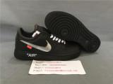 Nike Air Force 1 '07 Off White x Virgil MOMA Black