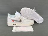 Nike Air Force 1 '07 Off White x Virgil MOMA White