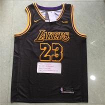 NBA Jerseys 2018 Lakers Black