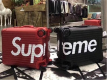 Authentic Supreme Luggage One Red (Size 20inch)