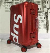 Authentic Suprem Luggage One Red (Size 26inch)