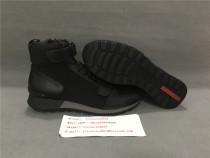 Authentic P.rada High Top Sneaker Black