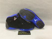 Authentic Air Jordan 18s Black/Blue
