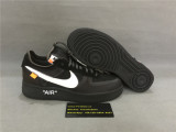 Authentic OFF WHITE x Nike Air Force 1 Black