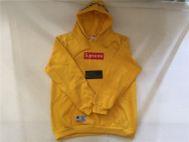 Authentic Suprem hoodies Yellow