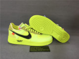 Authentic OFF WHITE x Nike Air Force 1 Green
