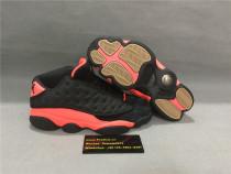 Authentic Air Jordan 13s Black/Red