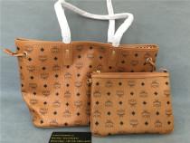 Authentic MCM Handbags + Purse Bag Brown