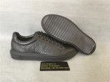 Authentic LV Low Top Black Shoe Men