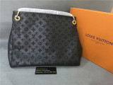 Authentic L.V.   Leater Handbag Black