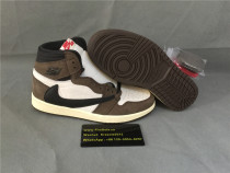 Authentic Air Jordan I Retro GS Travis Scott Nike Pair!
