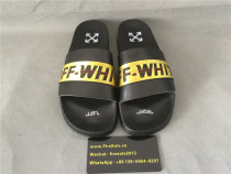 Authentic 0ff White Slipper