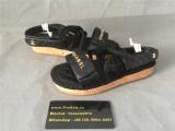 Chanel Sandals Black
