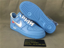 "Authentic OFF WHITE x Nike Air Force 1 ""MCA"""