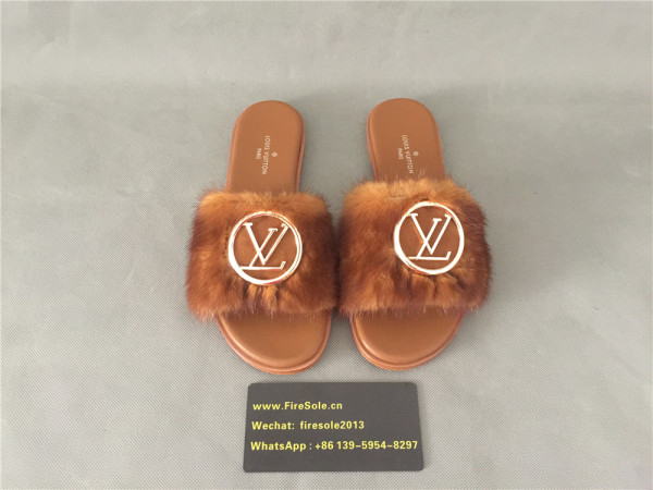 Authentic LV Slipper