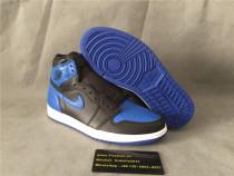 Authentic Air Jordan 1 Retro High OG Black/Blue