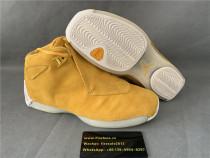 Authentic Air Jordan 18 Retro Yellow