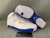 Authentic Air Jordan 18 Retro White