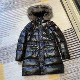 Authentic Moncler Winter Long Jacket Black