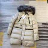 Authentic M0ncler Winter Long Jacket White