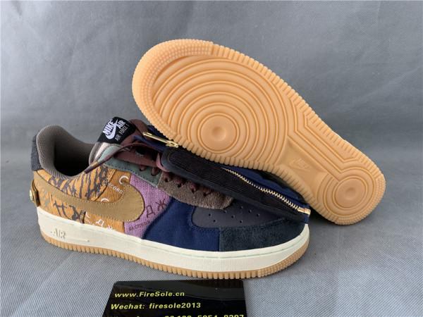 Nike Pair Air Force 1 Low Travis Scott
