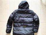 Authentic M00cler Coat Black 08