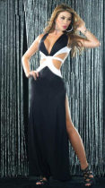 Long Dresses High Slit 12099