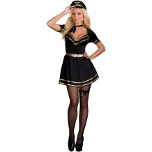Venta al por mayor Air Hostess Costume 14449