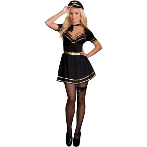 Großhandel Air Hostess Kostüm 14449