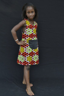 New Arrival Fashion Child Dress 22405