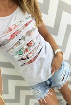 Camisetas con estilo de las niñas huecas 21305-1