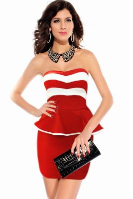 Сексуальное платье Peplum 14016-4