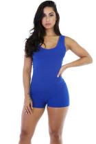 Monos mujer azul sin mangas 20655-3