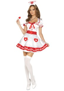 Costume d'infirmière sexy pour Halloween Carvinal 22241