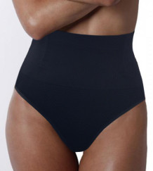Pure Black High Waist Shapewear 17157-1